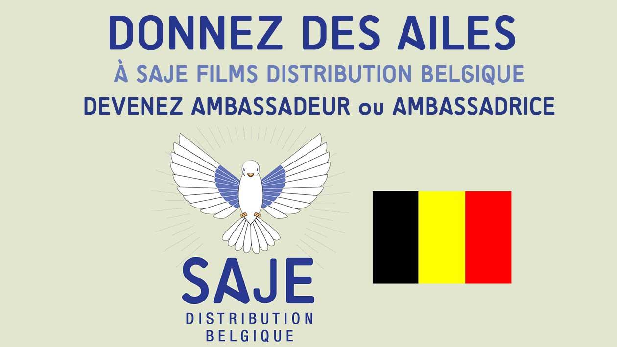Donnez des ailes à SAJE en Belgique